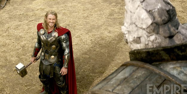 Chris Hemsworth Stars Thor: The Dark World