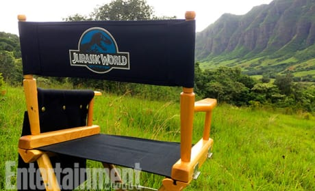 Set Photo From Jurassic World