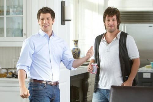 Andy Samberg and Adam Sandler in That's My Boy