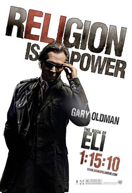The Book of Eli Religion is Power Poster