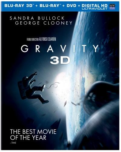 Gravity DVD/Blu-Ray Combo Pack