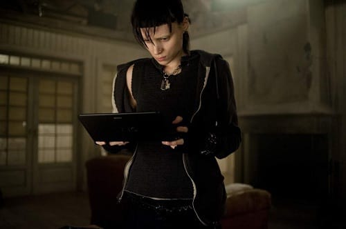 Rooney Mara is Lisbeth in The Girl with the Dragon Tattoo