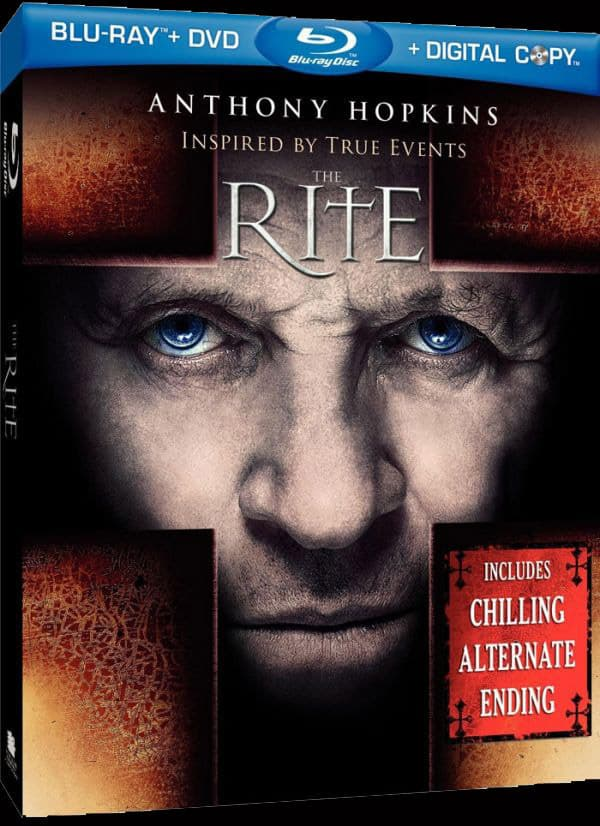 The Rite Blu-Ray Cover