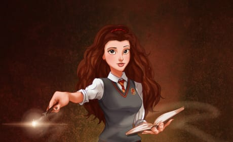 Belle As Hermione