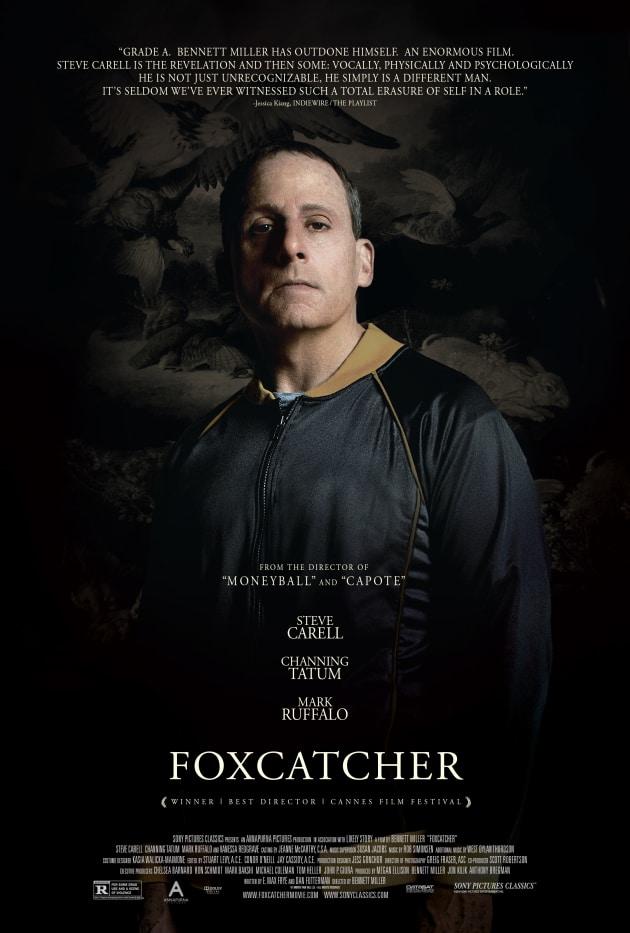 Foxcatcher Steve Carell Poster