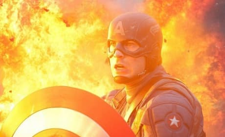 Captain America Blu-Ray Trailer: Avengers Sneak Peek!