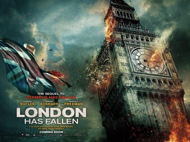 London has fallen big ben poster