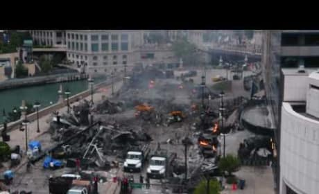 Transformers 3 Filming: Epic Explosion
