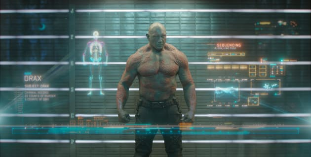 Dave Bautista Is Drax In Guardians of the Galaxy