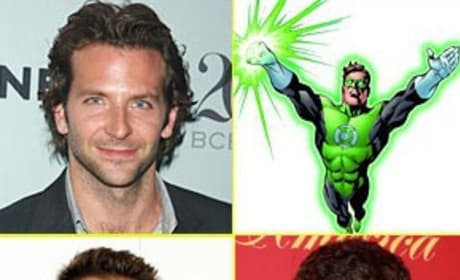 Trio of Stars Compete for Lead Role in The Green Lantern
