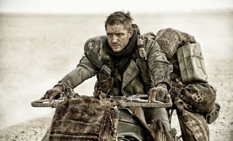 Mad Max Fury Road: Tom Hardy Hits the Road