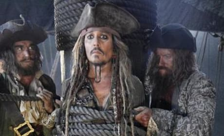 Pirates of the Caribbean Dead Men Tell No Tales First Photo: Johnny Depp's Tied Up!