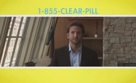 Bradley Cooper Pushes Pills for Limitless