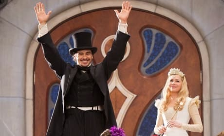 Oz The Great and Powerful: James Franco on Finding Oz