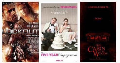 April Movie Posters