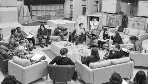 Star Wars Episode VII Cast Read