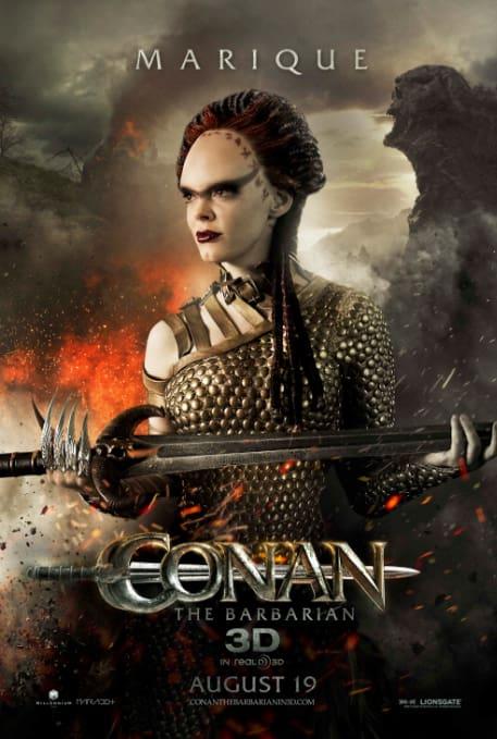 Rose McGowan as Marique in Conan the Barbarian