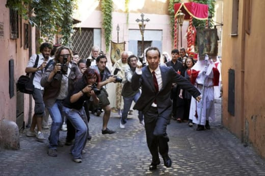 Robert Benigni in To Rome with Love