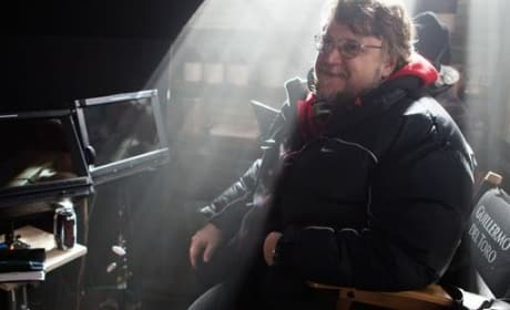 Guillermo del Toro Crimson Peak Set