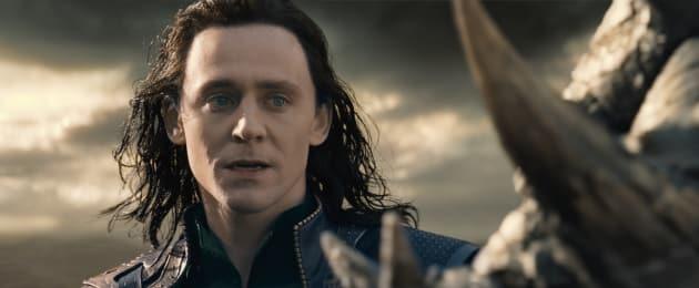Tom Hiddleston is Loki in Thor: The Dark World