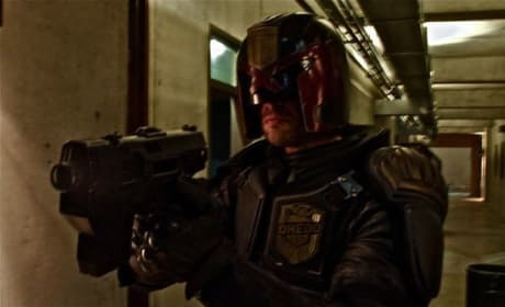Get Your First Look at Karl Urban as Judge Dredd!