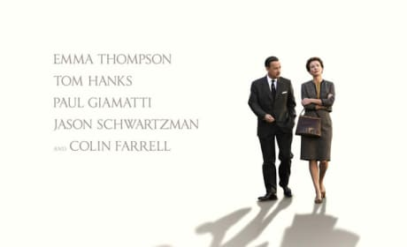Saving Mr. Banks Poster: Tom Hanks' Disney True Tale