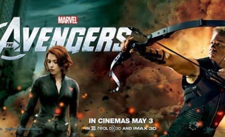 Jeremy Renner and Scarlett Johansson Star in The Avengers