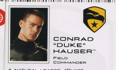 Geto Know a G.I. Joe Movie Character: Duke