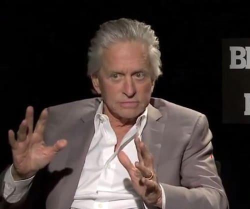 Michael Douglas Interview Photo