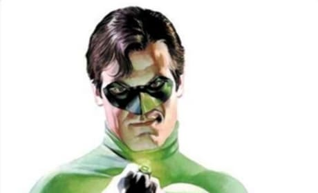 The Green Lantern comic image