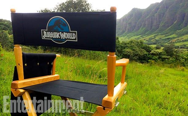 Set Photo From Jurassic World