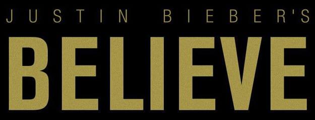 Justin Bieber Believe Banner