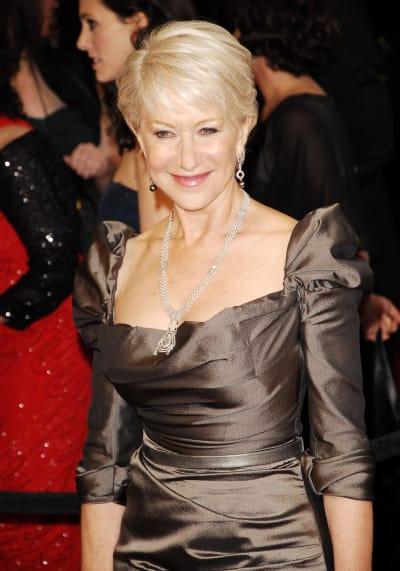 British Actress Helen Mirren