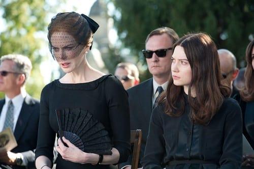 Stoker Star Nicole Kidman and Mia Wasikowska