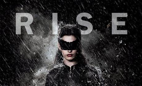 The Dark Knight Rises Rain Character Poster: Catwoman