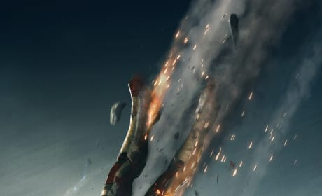 Iron Man 3 Falls From the Sky in a New Poster