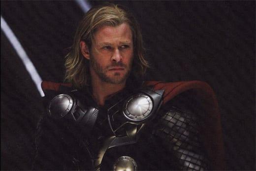 Empire: Chris Hemsworth as Thor