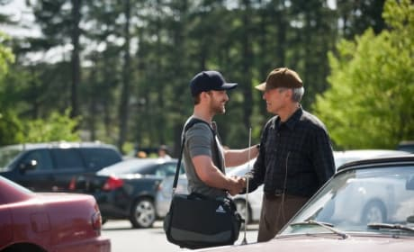 Justin Timberlake and Clint Eastwood in Trouble with the Curve