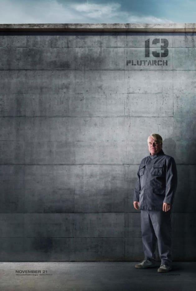 Mockingjay Part 1 Philip Seymour Hoffman Poster