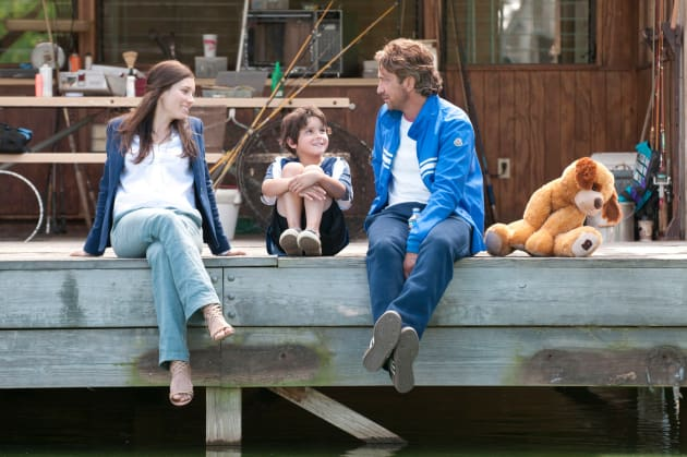 Jessica Biel and Gerard Butler Playing for Keeps
