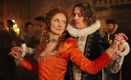 Joely Richardson as a Young Queen Elizabeth I