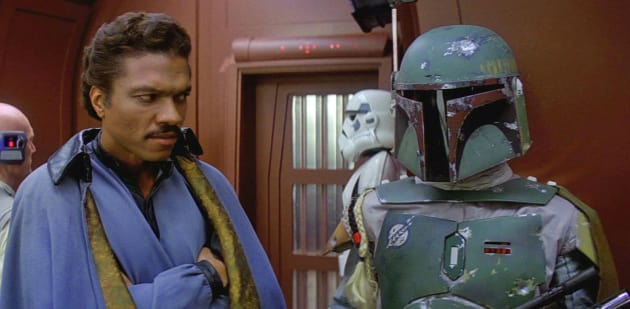 Empire Strikes Back Lando Boba Fett