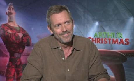 Arthur Christmas Exclusive: In the Holiday House with Hugh Laurie