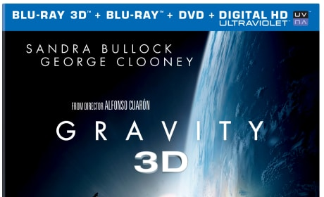 Gravity DVD/Blu-Ray Combo Pack