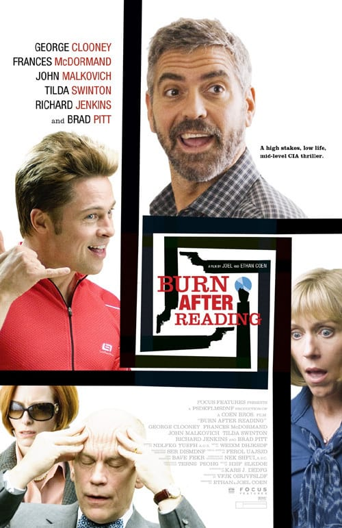New Burn After Reading Poster