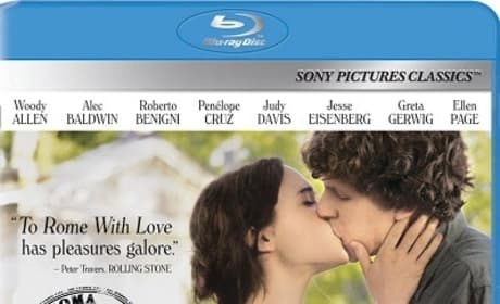To Rome with Love Blu-Ray Cover