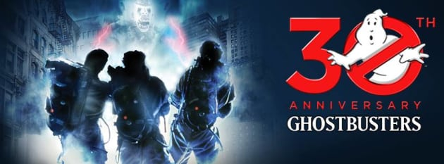 Ghostbusters 30th Anniversary Banner