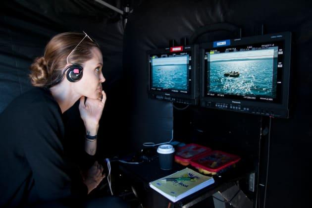 Angelina Jolie Directs Unbroken