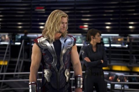 Thor in The Avengers