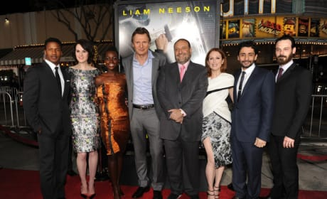 Non-Stop Cast and Joel Silver